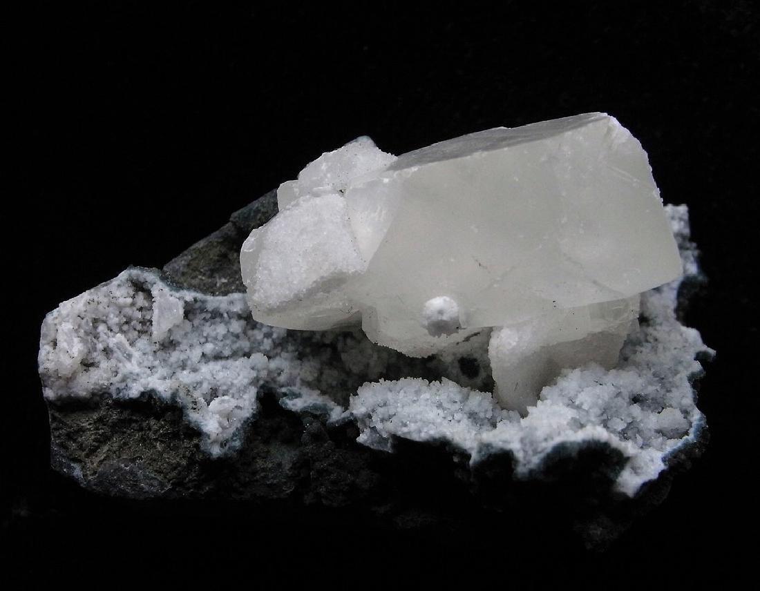 Calcite & Prehnite
