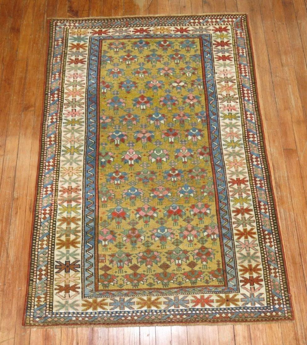 Antique Caucasian Shirvan Kazak Kuba Rug 3.3x4.9