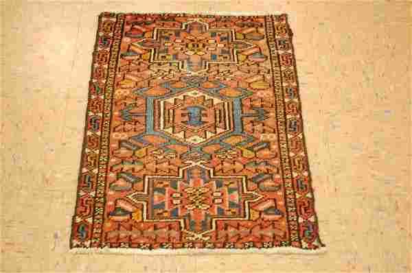 Rare Persian Heriz Serapi Karaja Rug 1.8x2.8