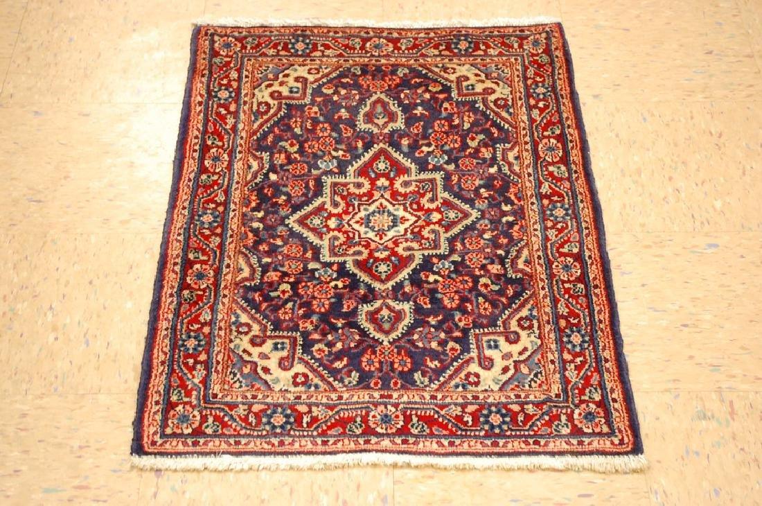 Fine Persian Sarouk Rug 2.1x3
