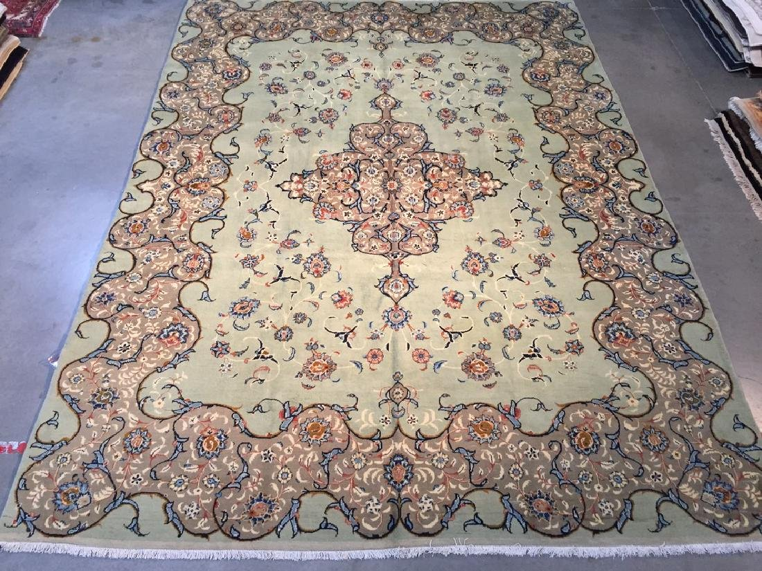 Semi Antique Persian Tabriz Rug 8.5x12.2