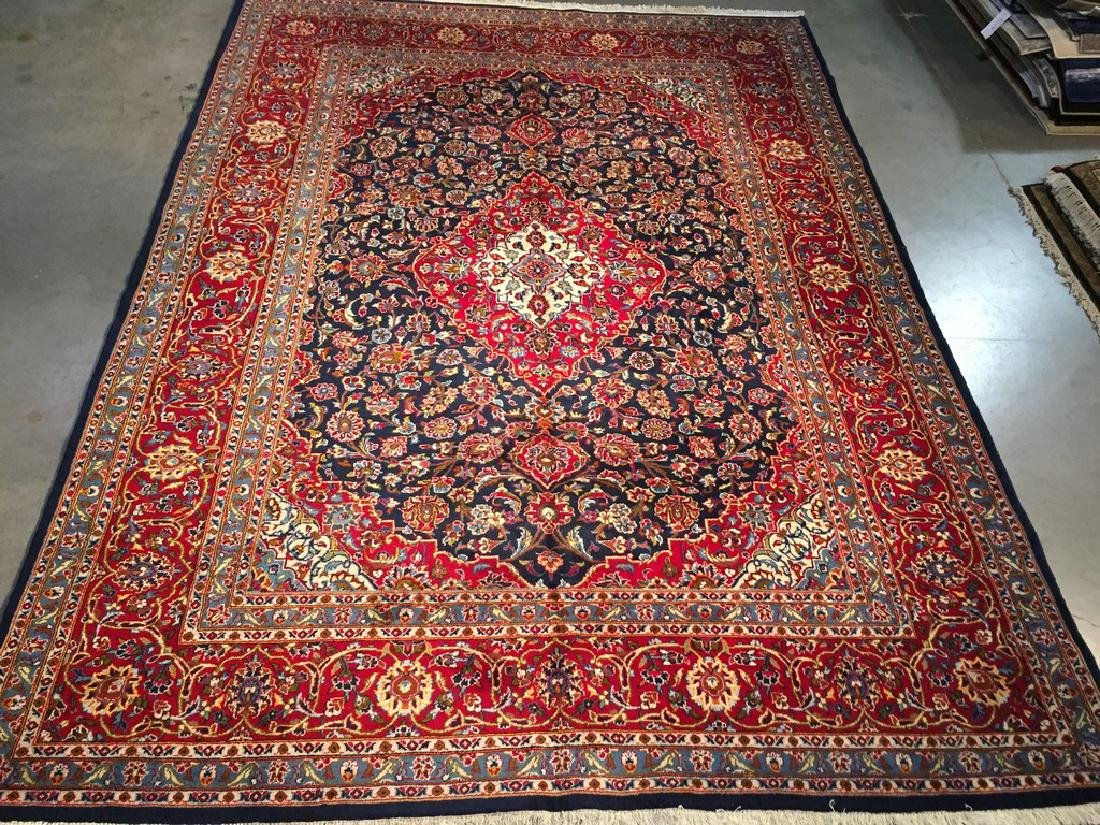 Authentic Persian Kashan Rug 8.3x11.2