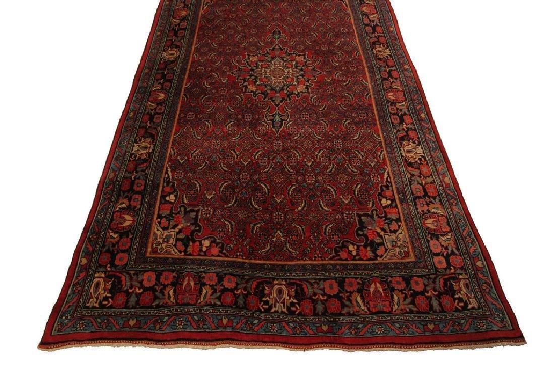 Persian Bijar Rug Farahan Design Red 5.6x8.10