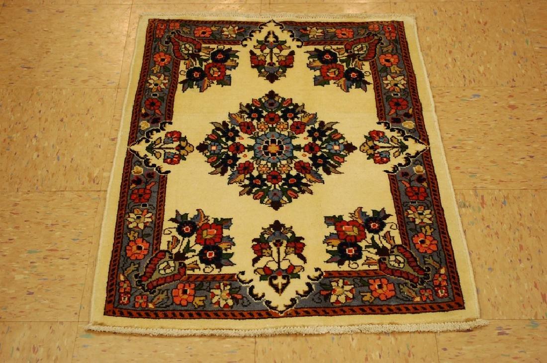 Fine Persian Sarouk Rug 2x2.10