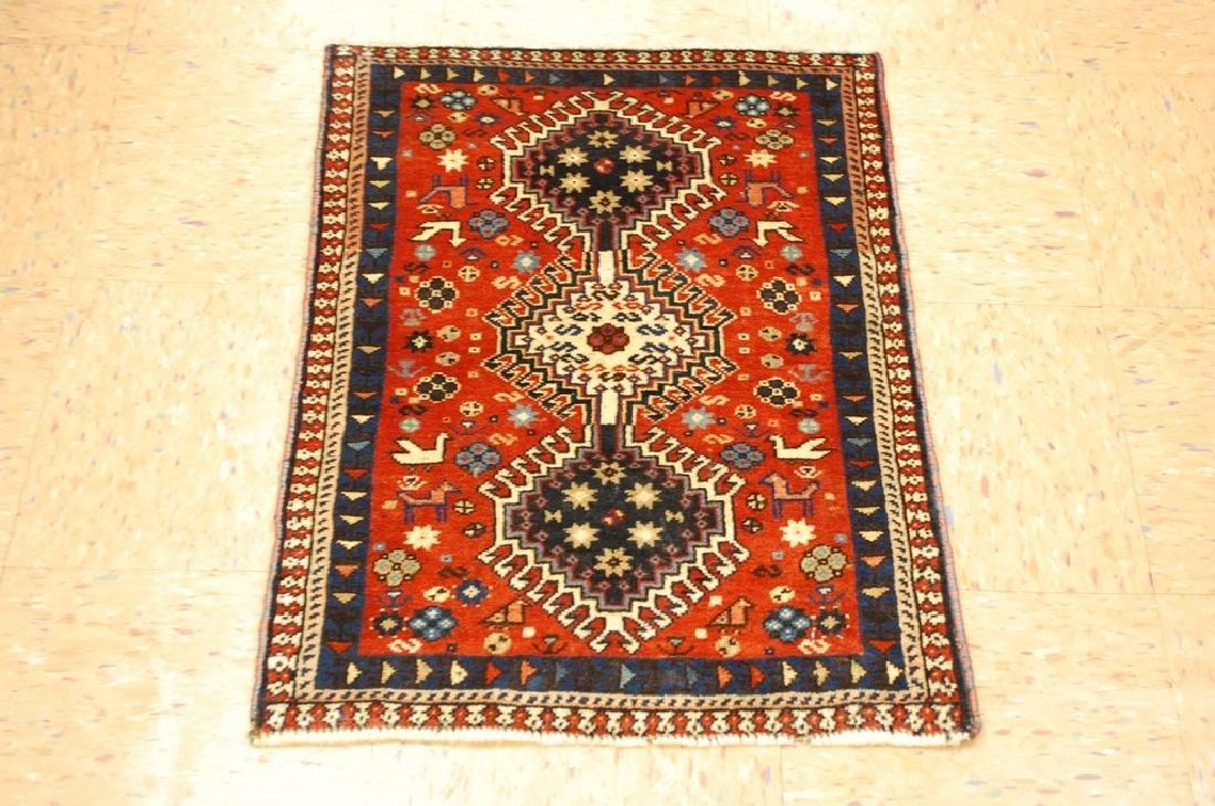 Persian Shiraz Qashkai Rug 1.9x2.6
