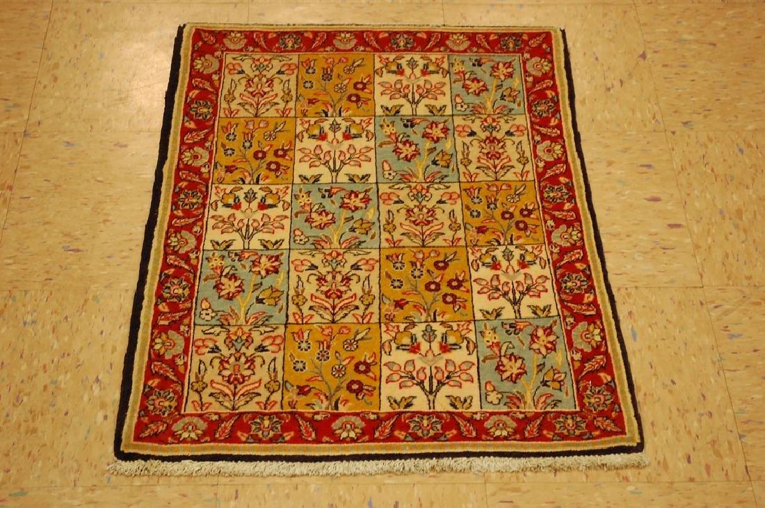 Fine Persian Sarouk Rug 2x2.9