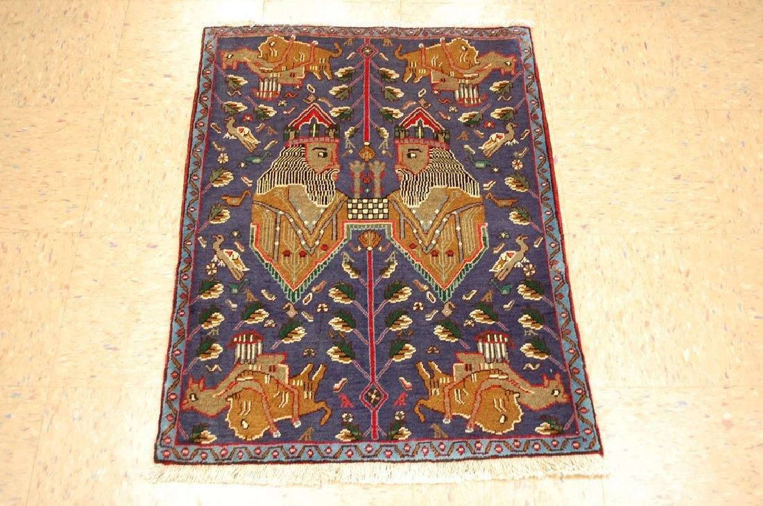 Persian Shiraz Afshar Rug 2.4x3.2