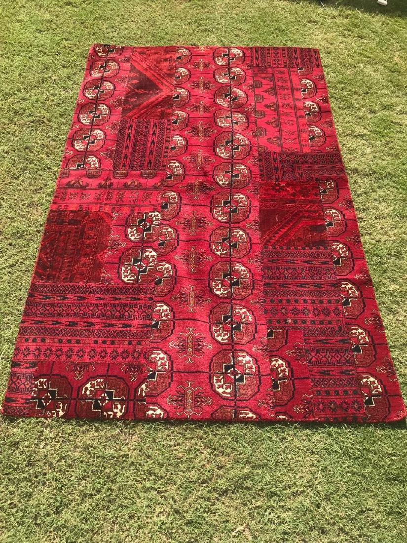 Hand Made Patch Work Kilim Rug 6x3.9