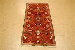 Rare Persian Heriz Serapi Karaja Rug 2x4.7