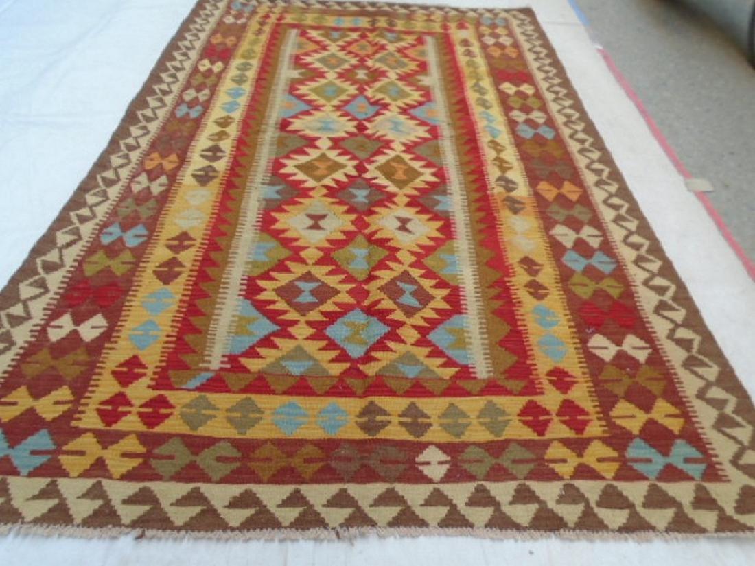 Chobi Kilim Rug 7.9x5