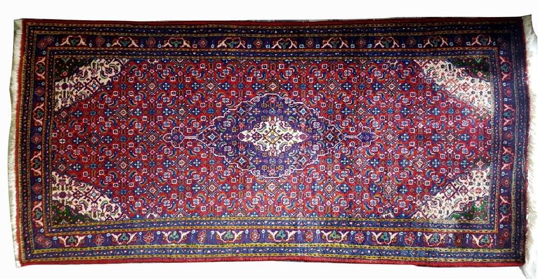 Persian Heriz Rug 4.6x2.2