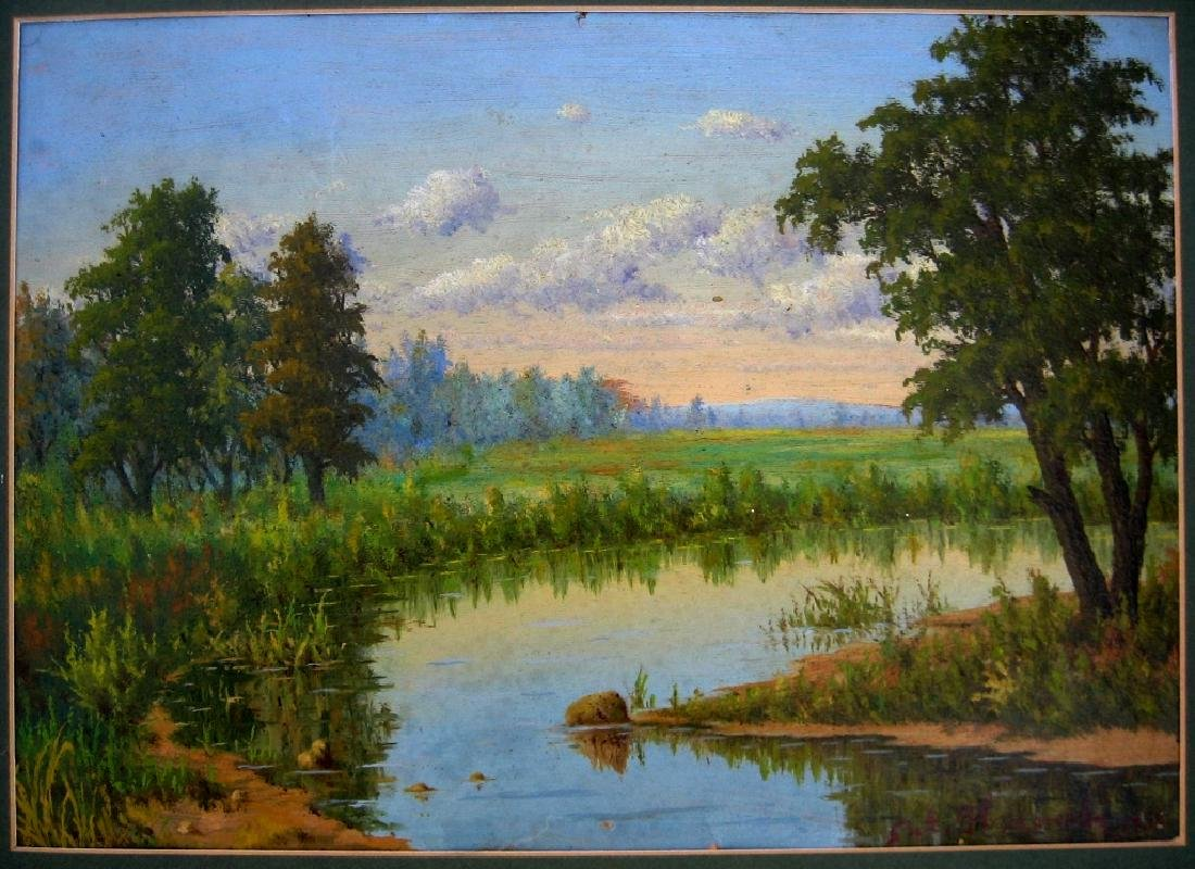 Nikonov Painting Lake 1956