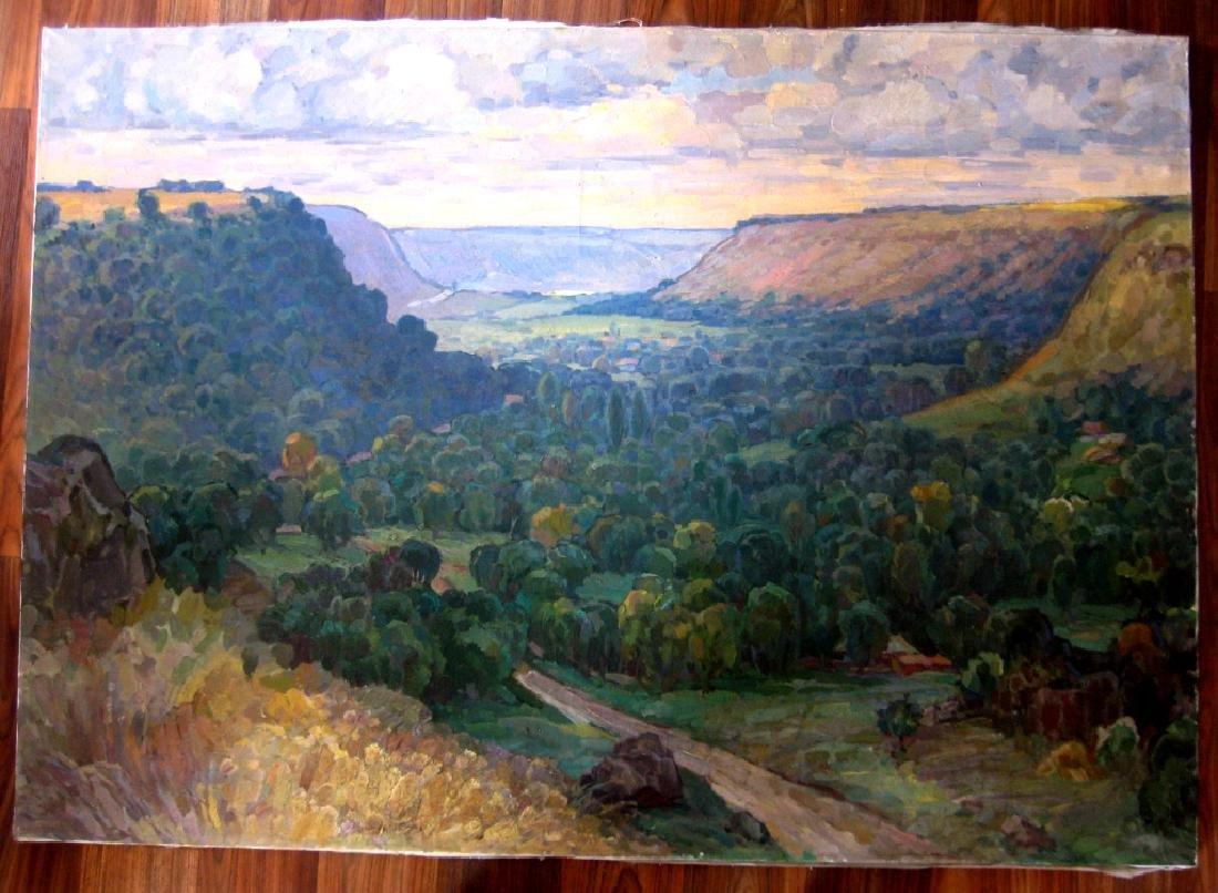 Grabko Alexey Andreevich Mountain Landscape