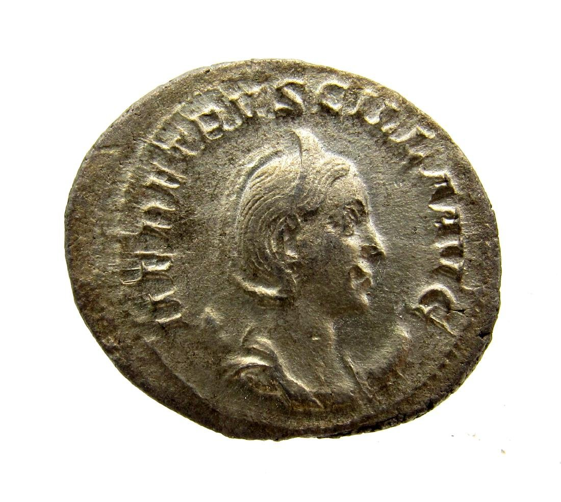Rare Roman AR Antoninianus of Herennia Etruscilla