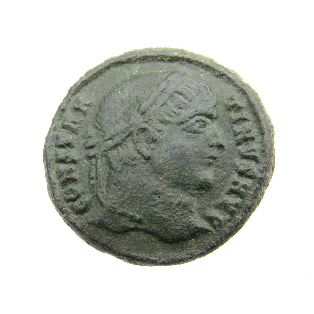 Superb Roman Ae Follis - House of Constantine