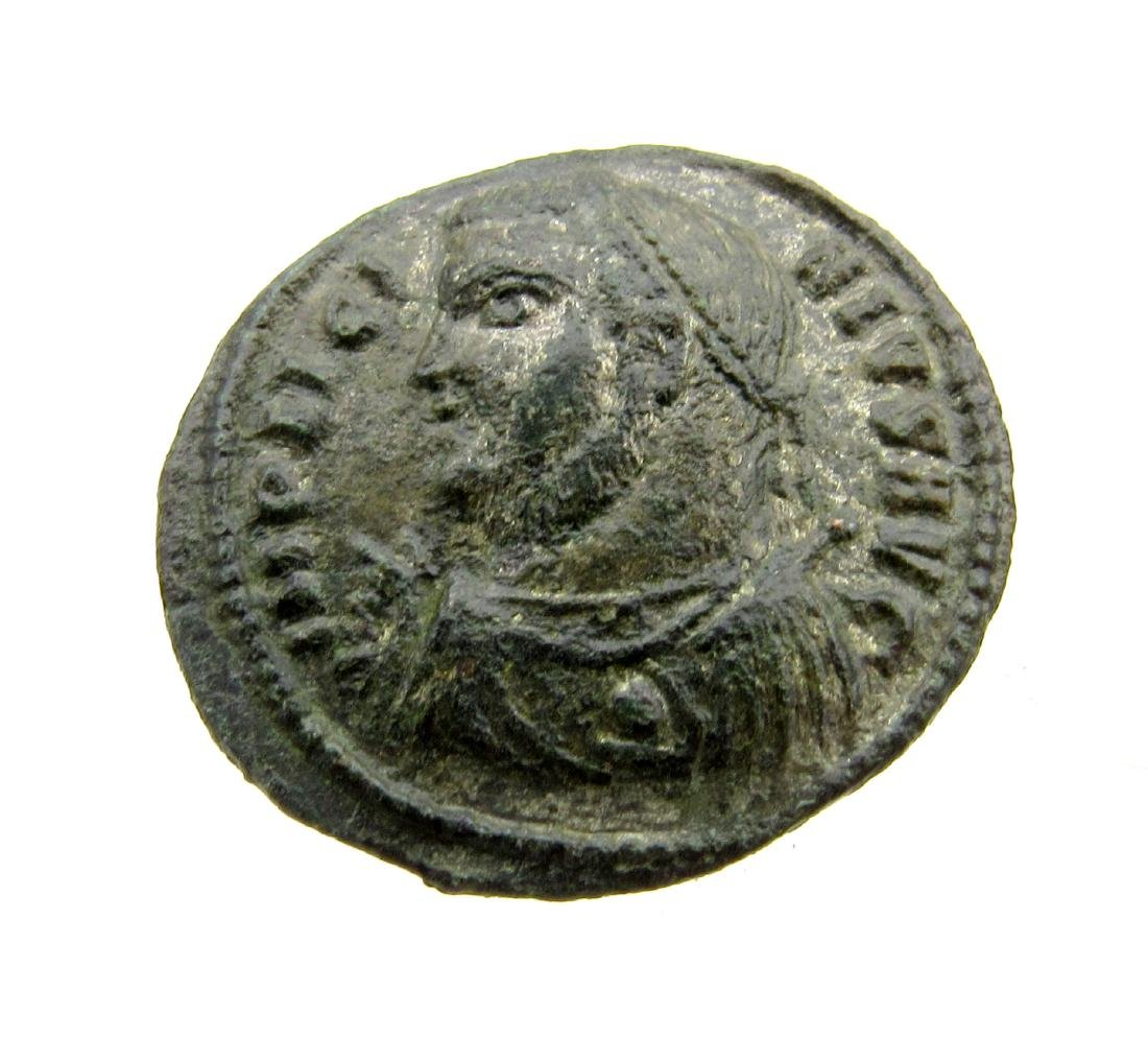 Superb Roman Ae Follis of Licinius