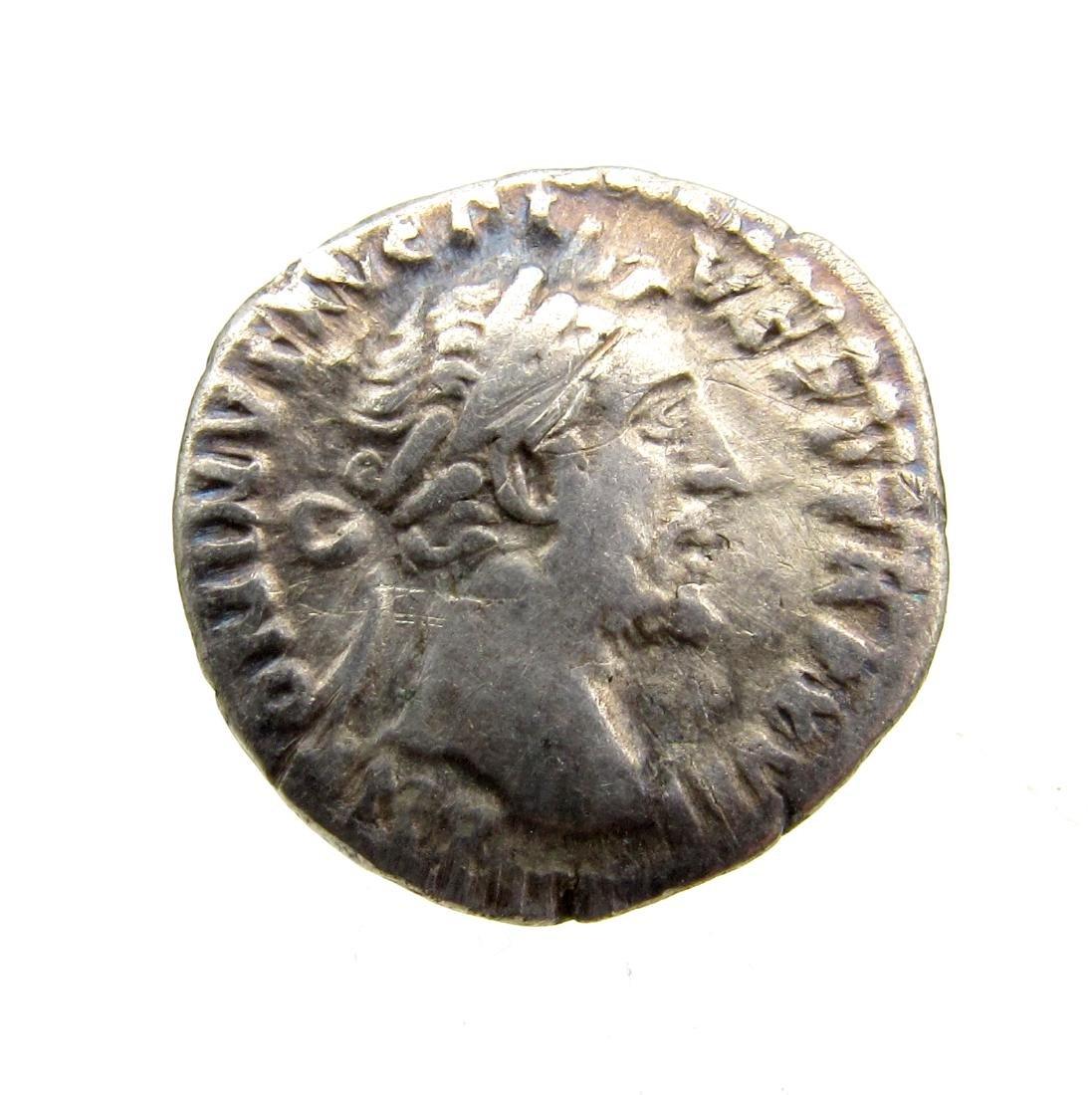 Superb Roman AR Denarius of Antoninus Pius