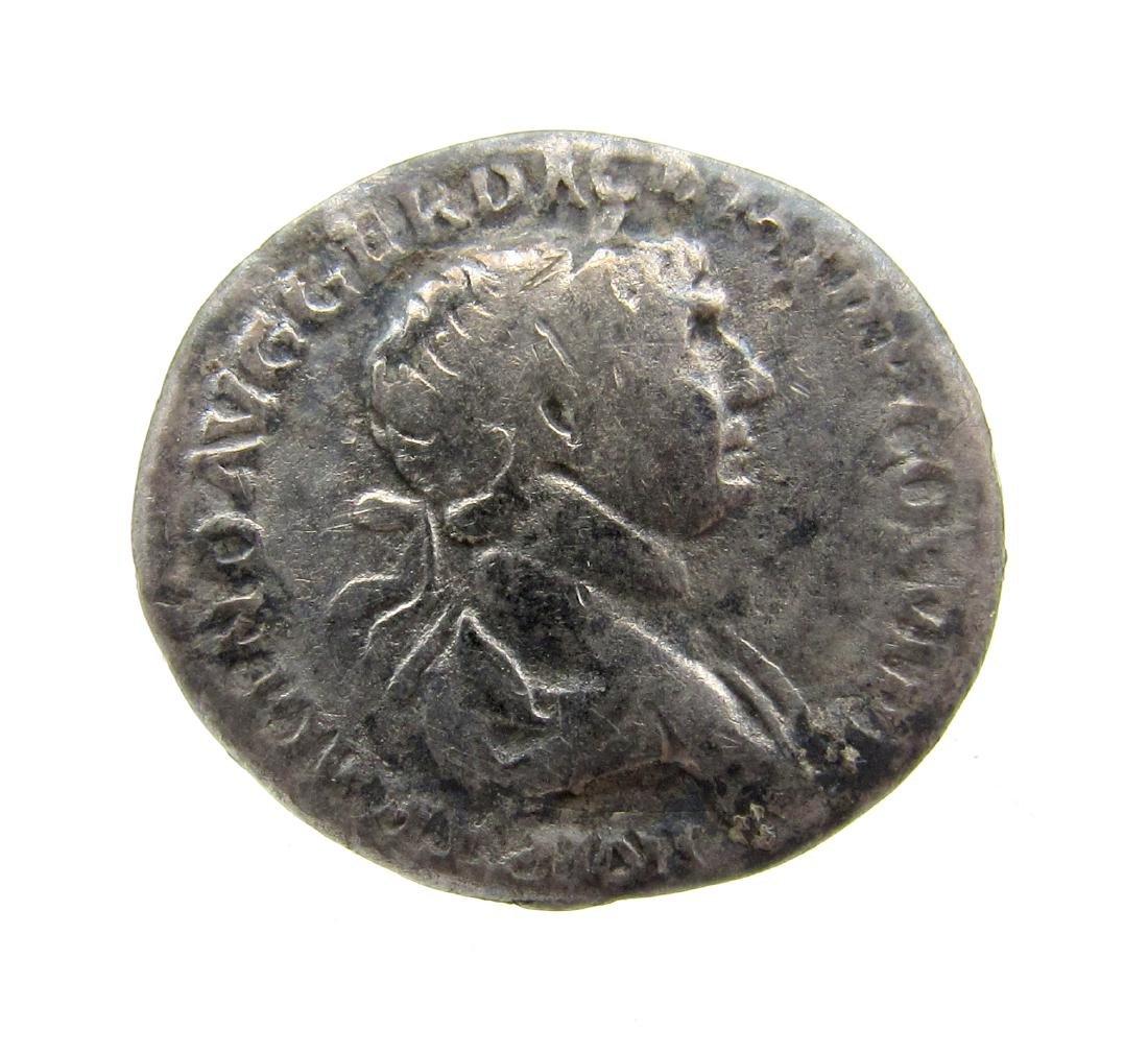 Superb Roman AR Denarius of Trajan