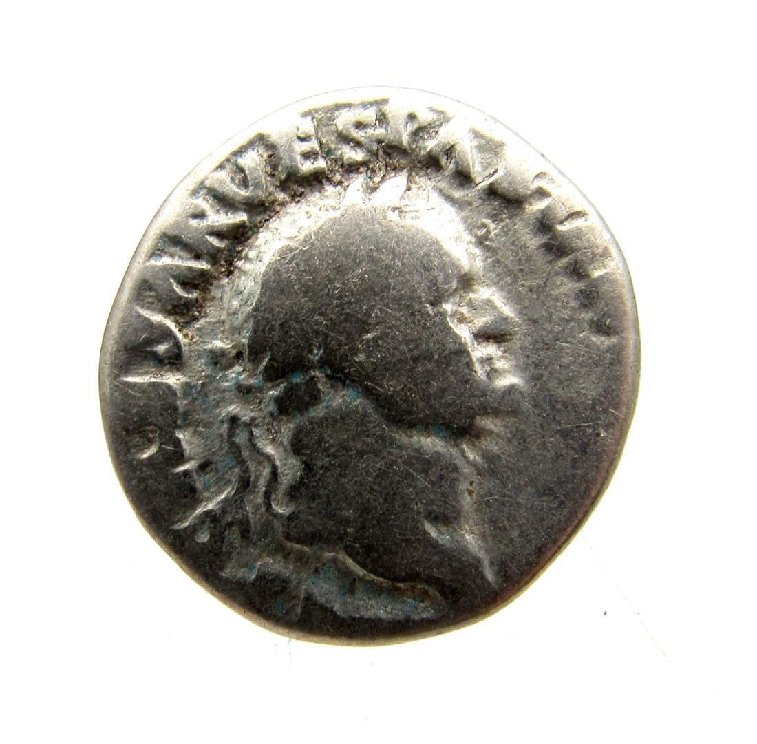 Superb Roman AR Denarius of Vespasian