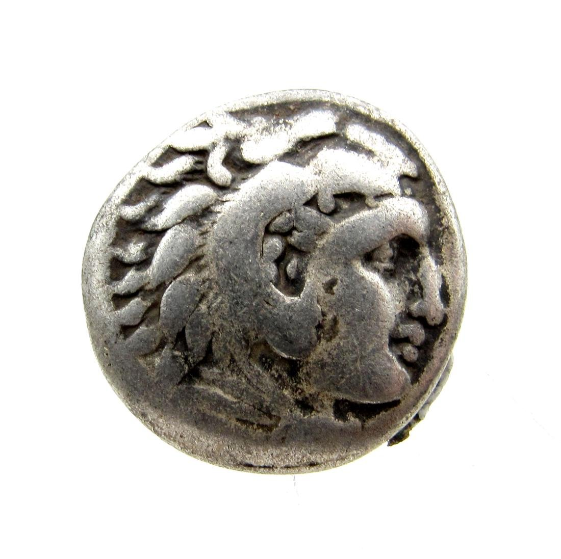 Rare Alexander III the Great Silver Drachm