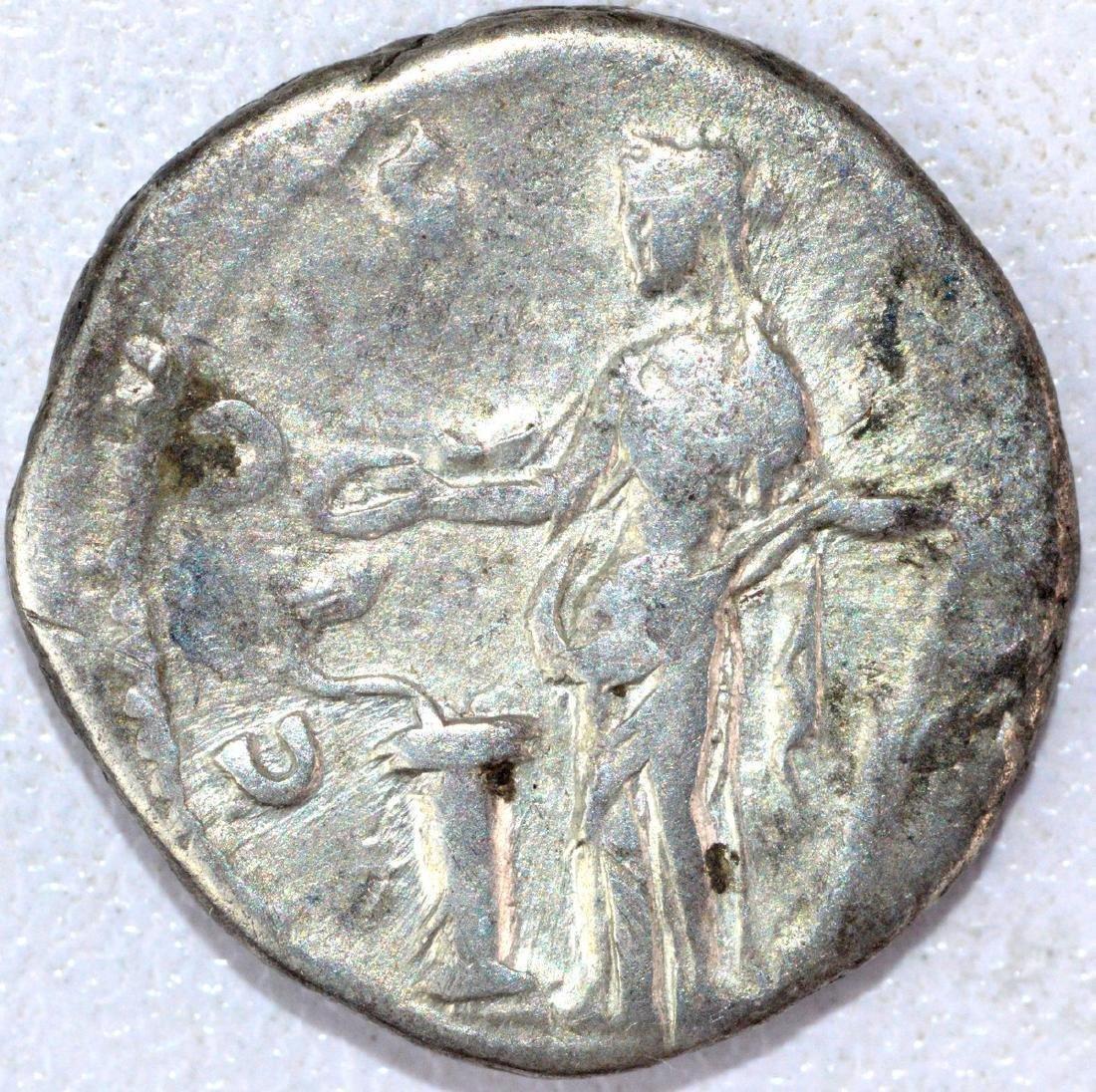 Ancient Roman Denarius of Antoninus Pius