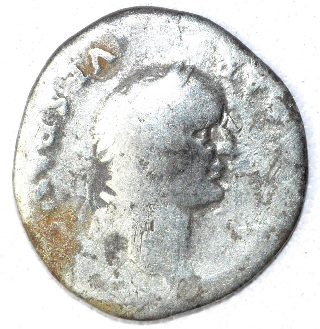 Ancient Roman Denarius Coin - Vespasian