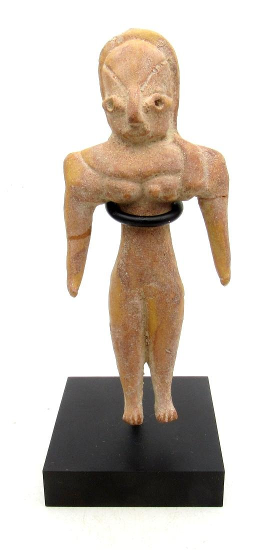 Ancient Indus Valley Terracotta Female Fertility Idol