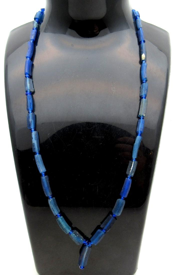 Medieval Viking Era Glass Beaded Necklace with 33 Beads