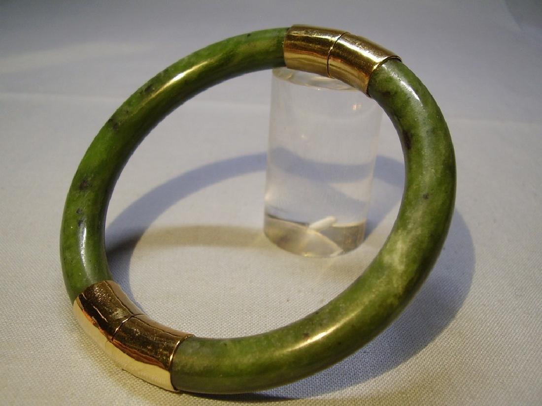 Jade Bangle Bracelet