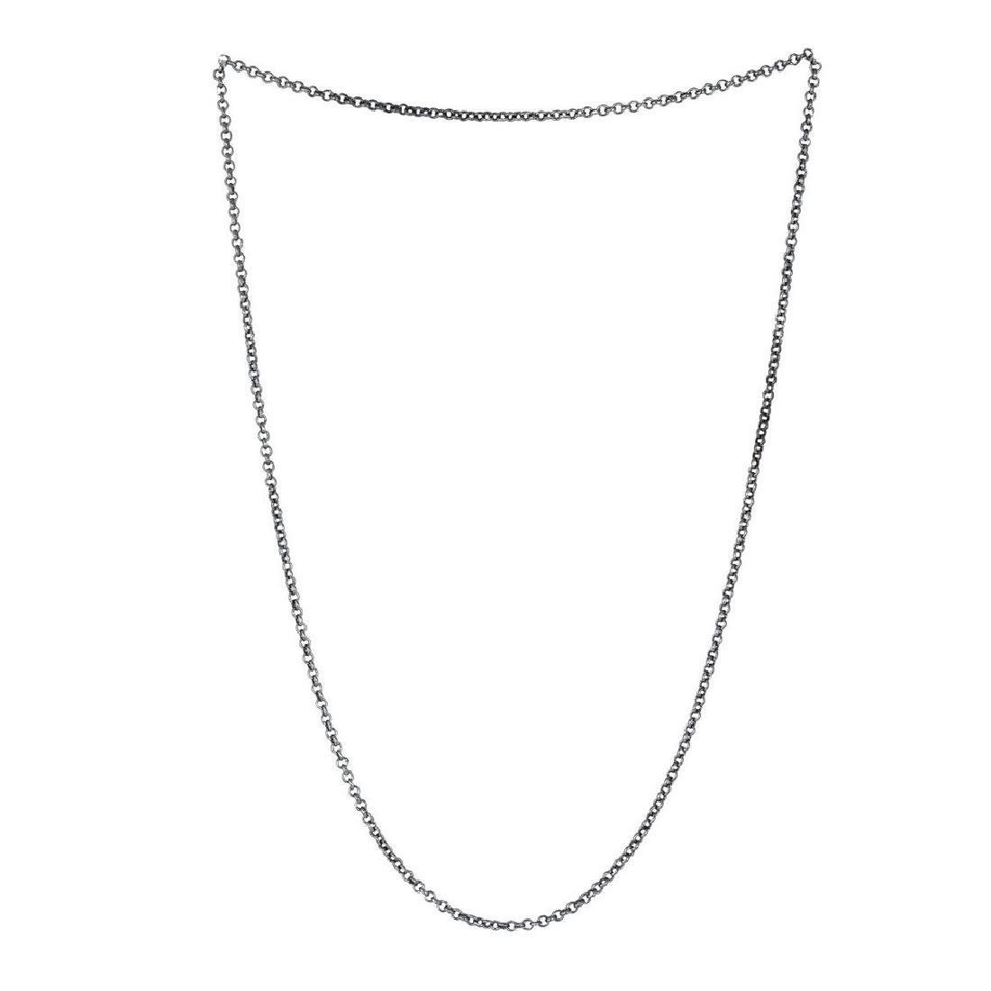 Sterling Silver round Link chain