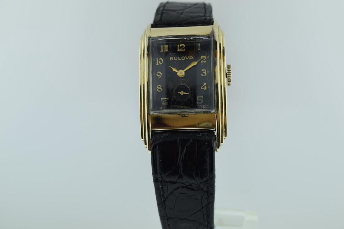Bulova Gold Filled Wedge Watch, 1946