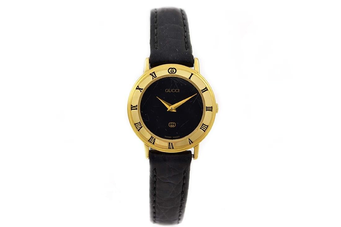 Vintage Gucci 3000L Gold Plated Quartz Ladies Watch