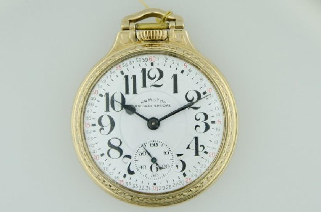 Hamilton Railroad Pocketwatch, 1900's
