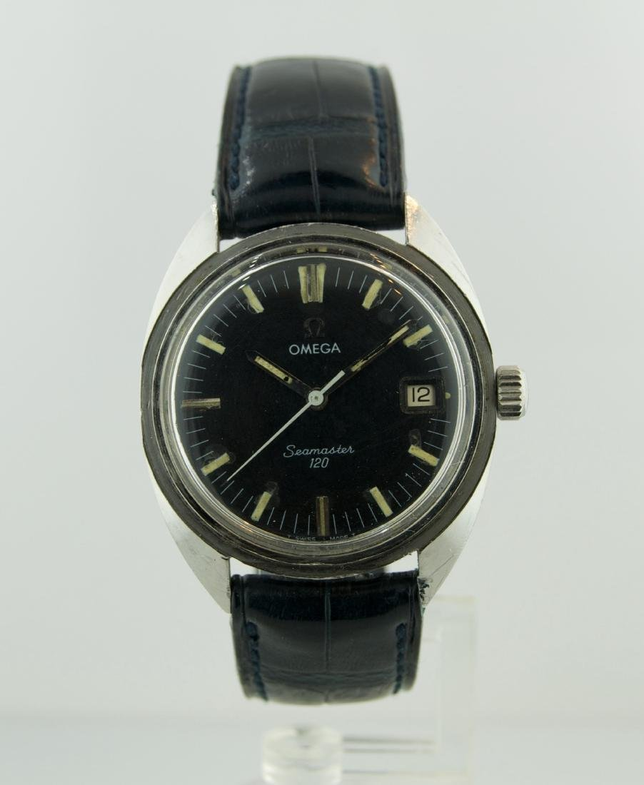 Omega Seamaster 120 Stainless Steel Watch, 1960s