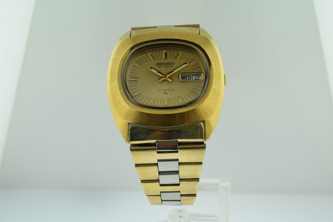 Seiko Automatic Two Tone Watch, 1970's