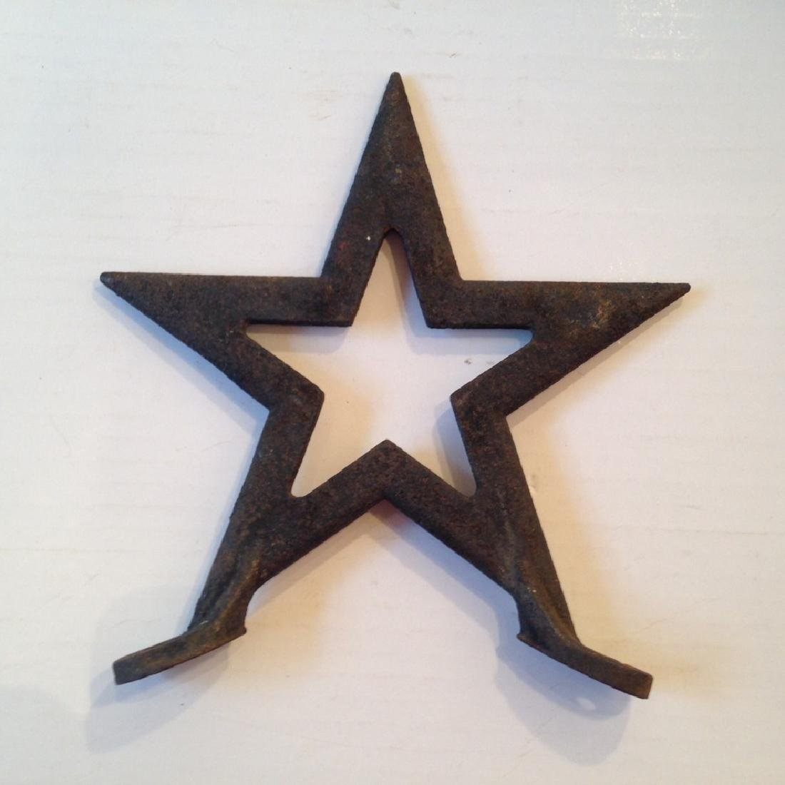 Cast Iron Roof Star 19th Century
