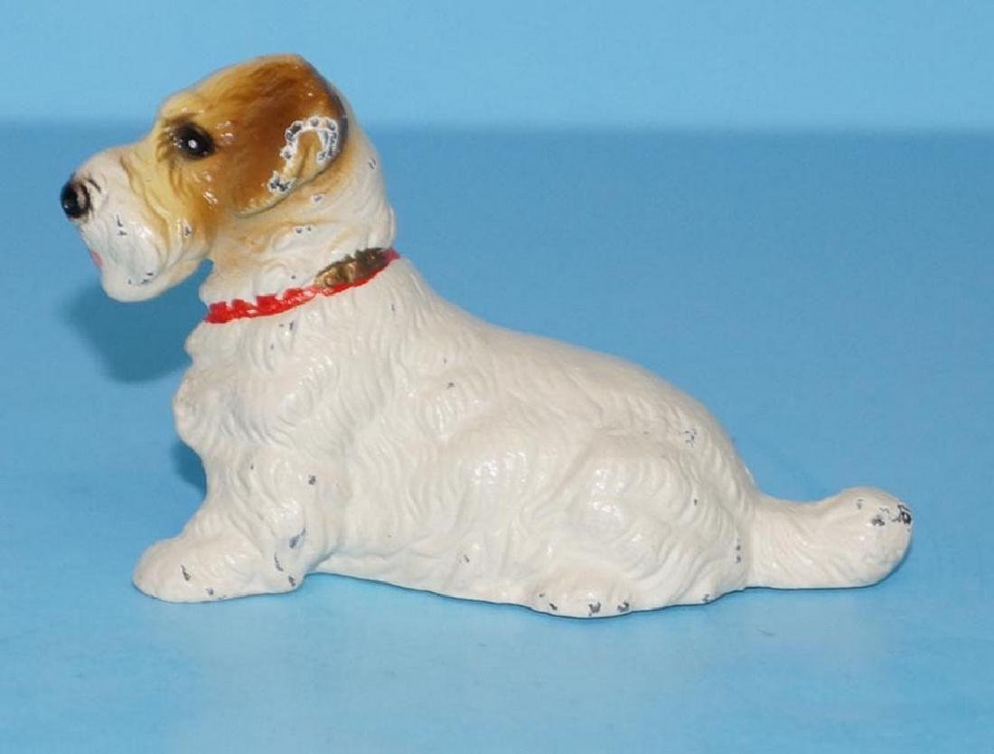 Sealyham Terrier Dog Cast Iron Paperweight