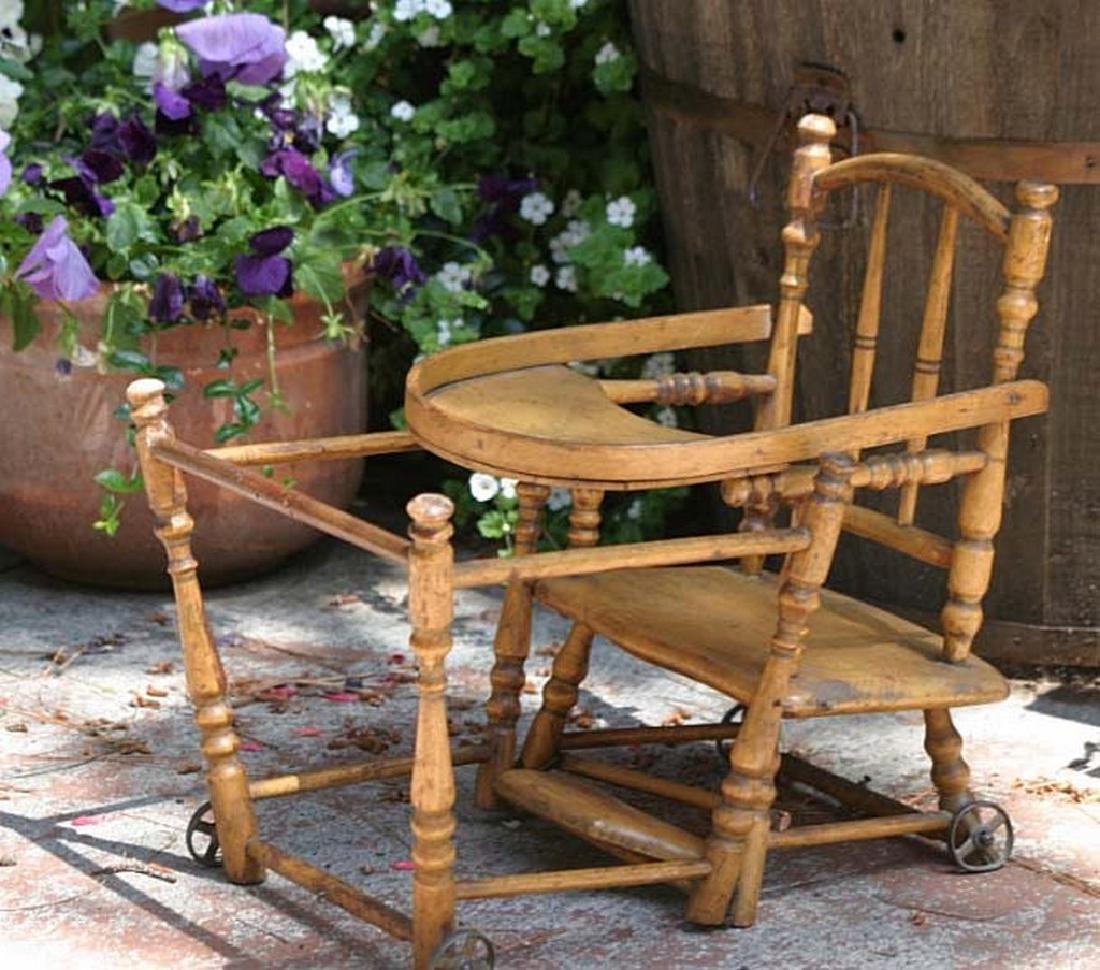 Antique Salesman's Sample High Chair
