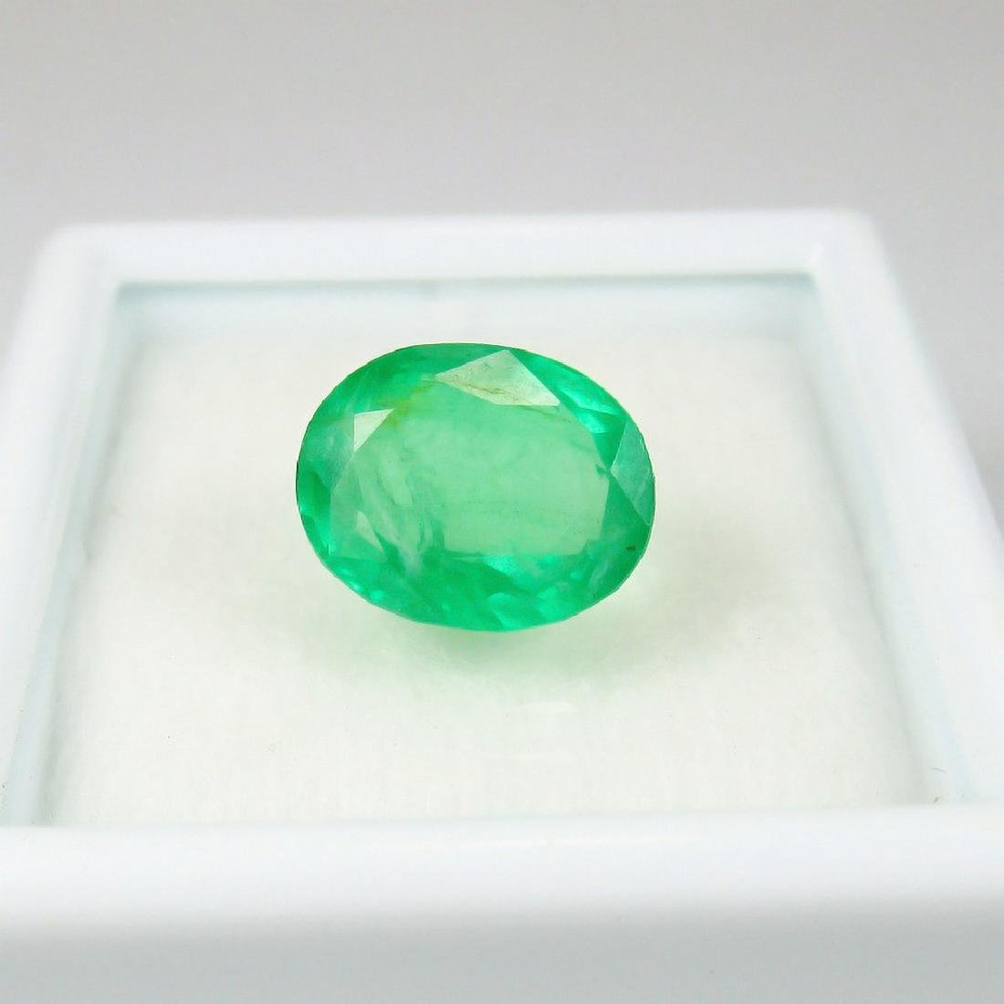2.50 Carat Loose Zambian Emerald Oval cut