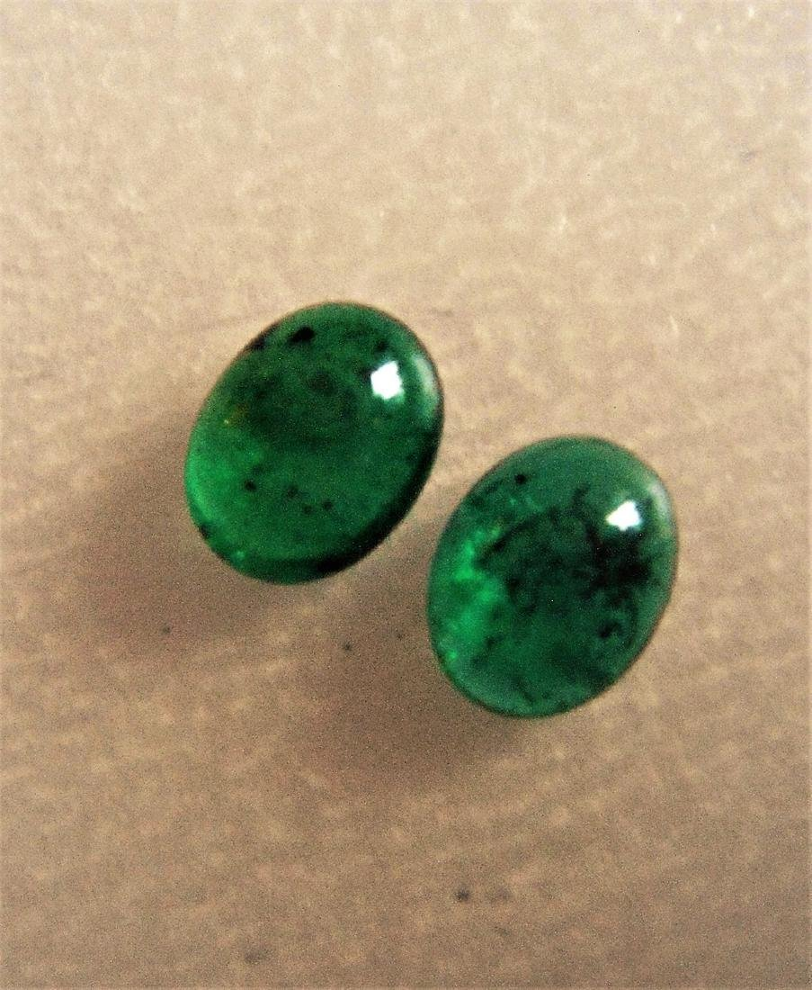 Emerald pair - 3.59 Carat Loose