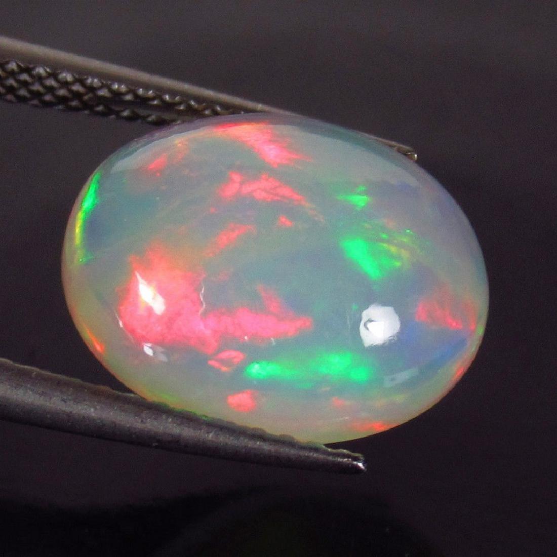 4.03 Carat Ethiopian Loose Welo White Opal
