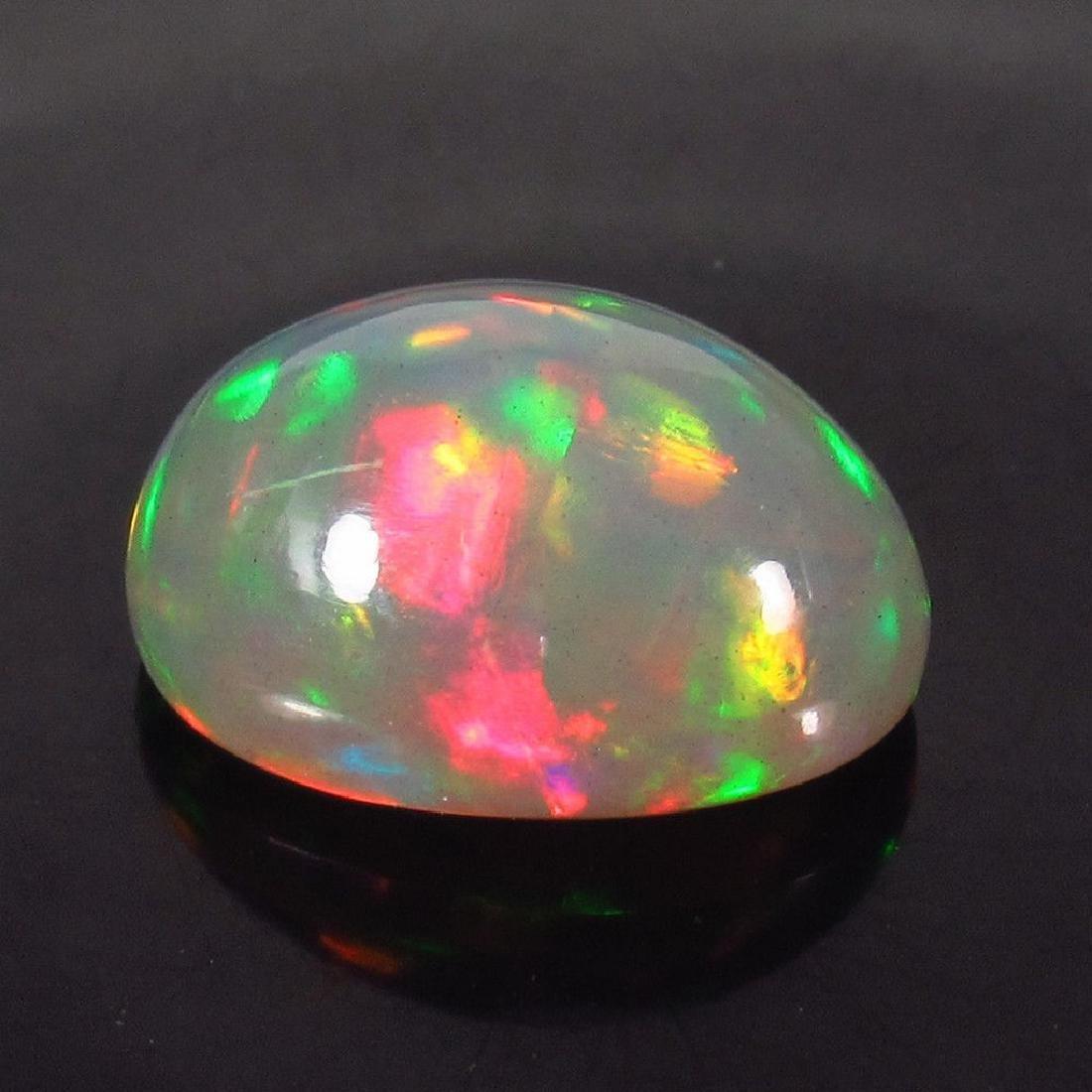 4.90 Carat Natural Loose Ethiopian Welo Opal Oval