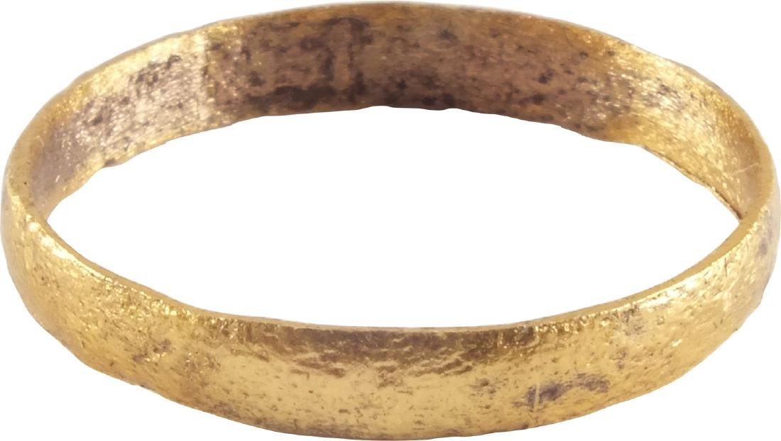 VIKING WOMAN'S WEDDING RING 10th-11th CENTURY