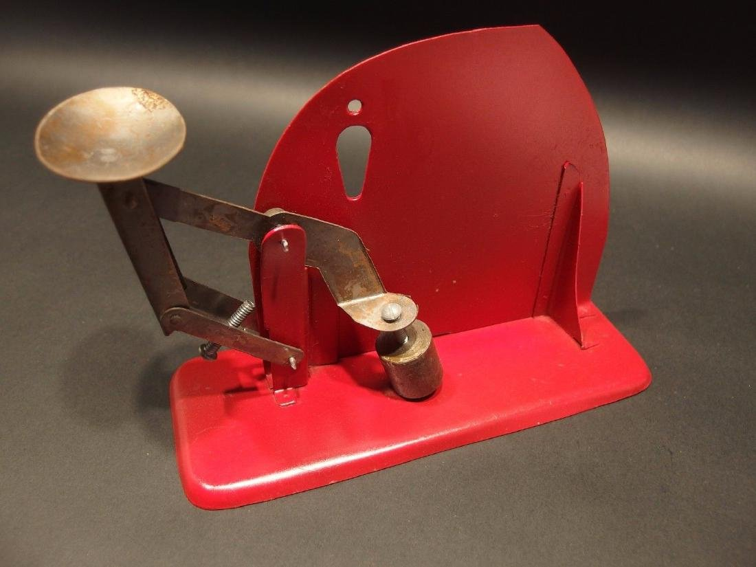 Brower Mfg. Quincy, Ill. Jiffy Way Egg Scale - 3