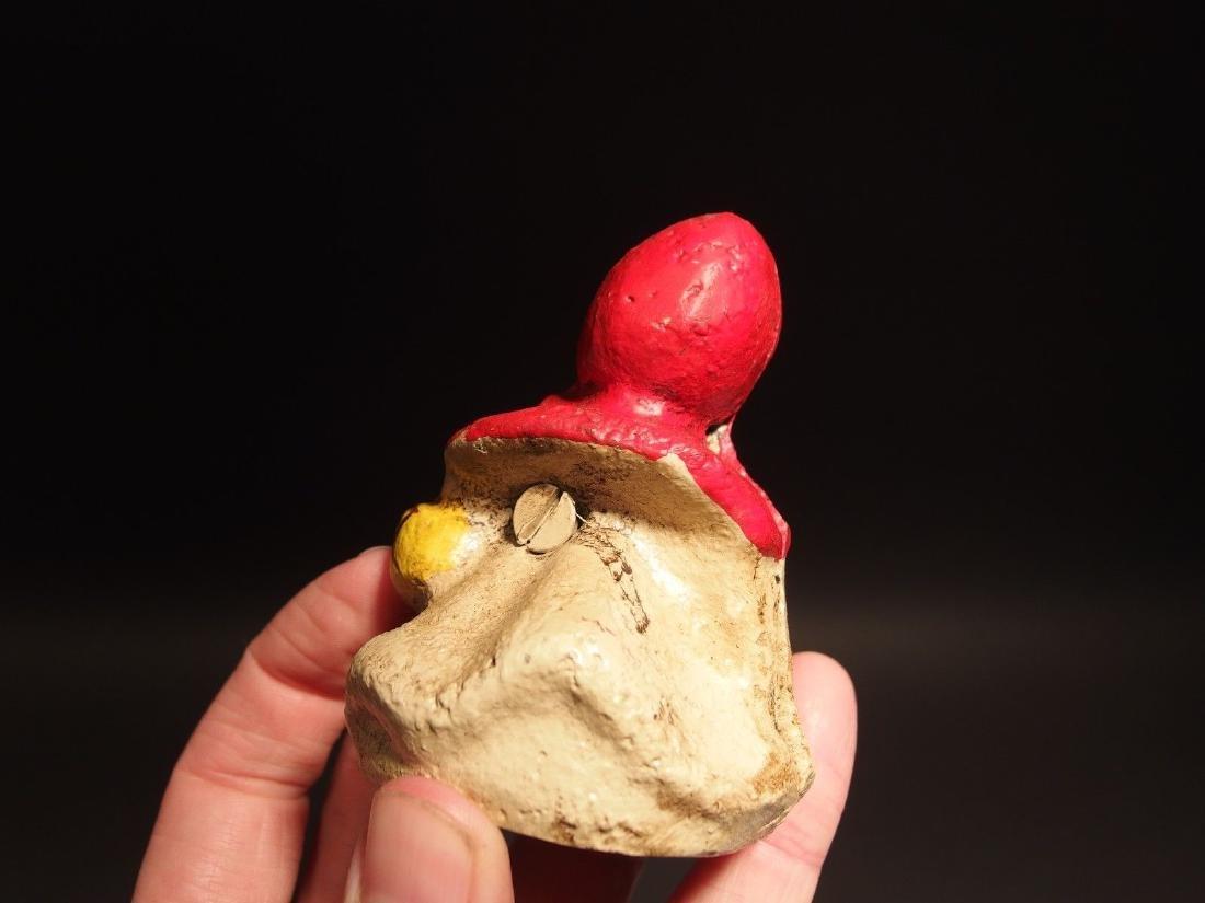 Miniature Cast Iron Little Red Riding Hood Dime Coin - 4