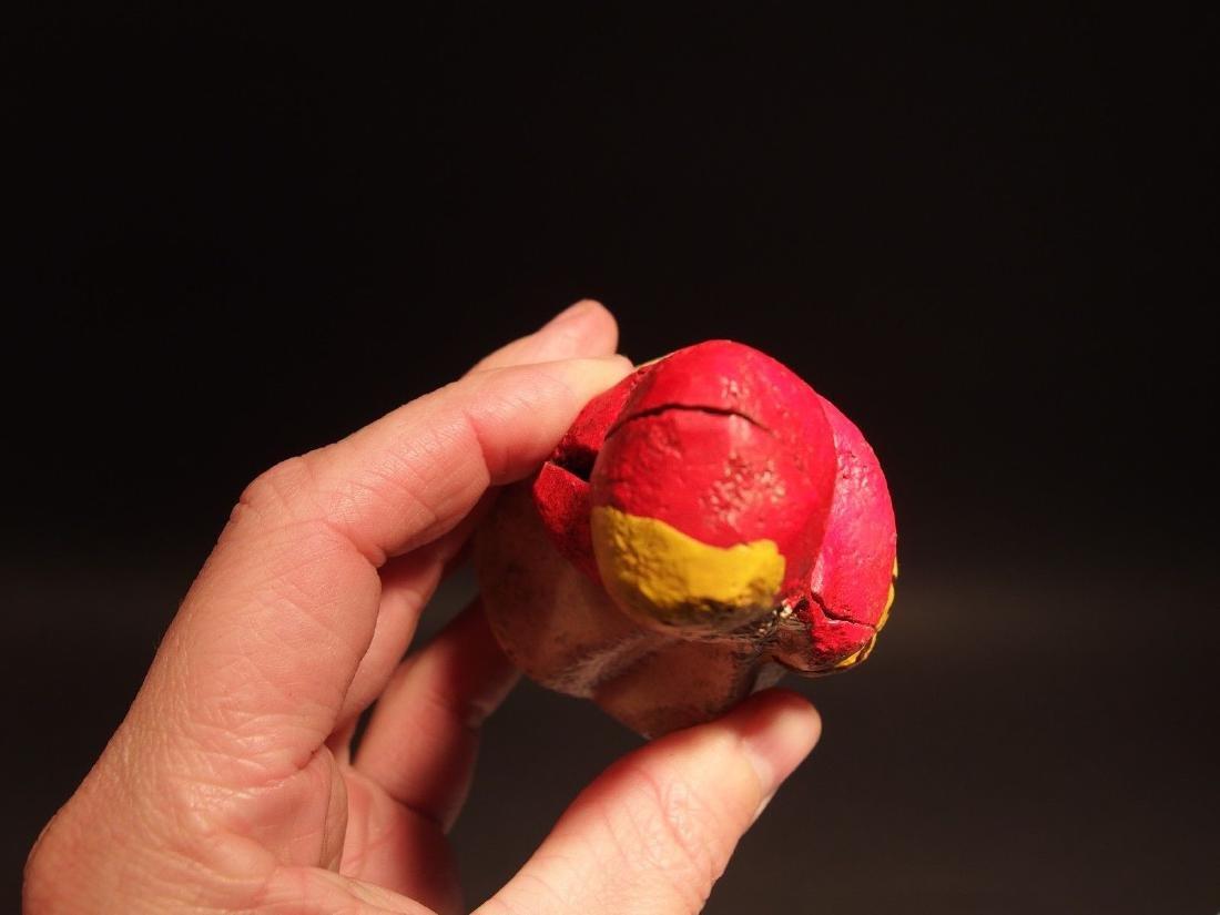Miniature Cast Iron Little Red Riding Hood Dime Coin - 6