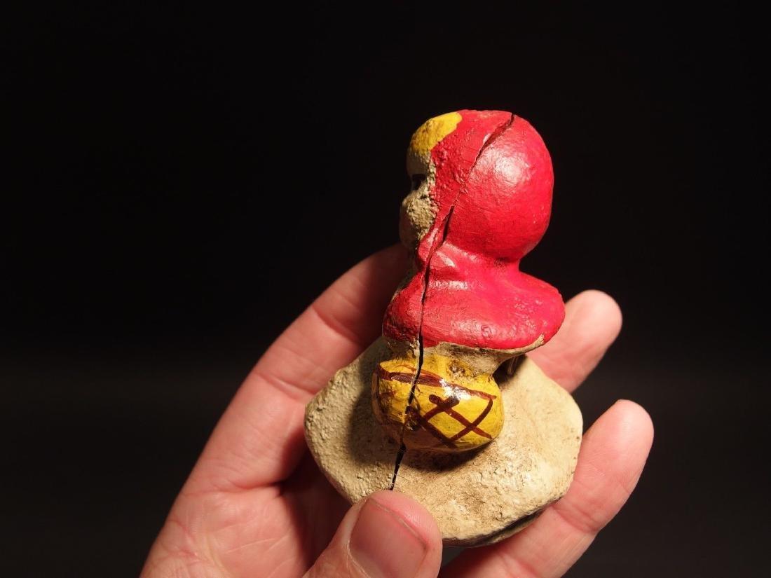 Miniature Cast Iron Little Red Riding Hood Dime Coin - 7