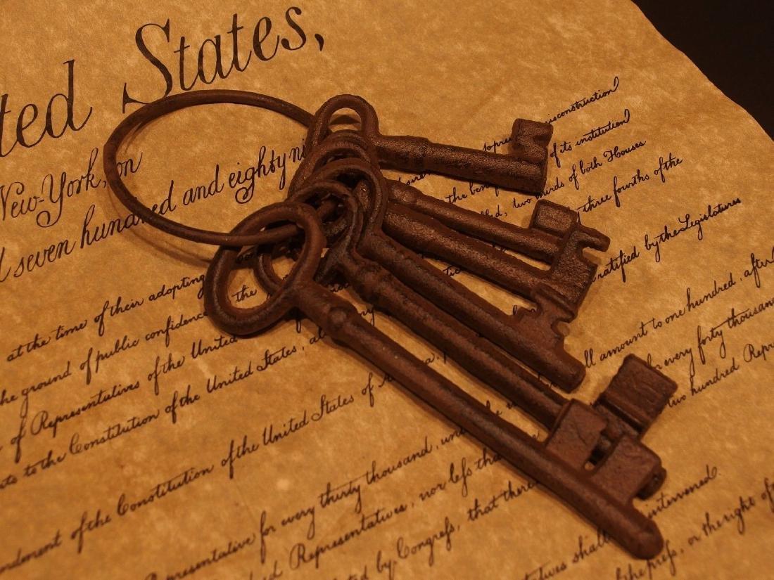 Cast Iron Ring of Keys - 3