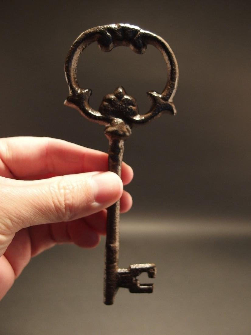 "6"" Cast Iron Skeleton Key"