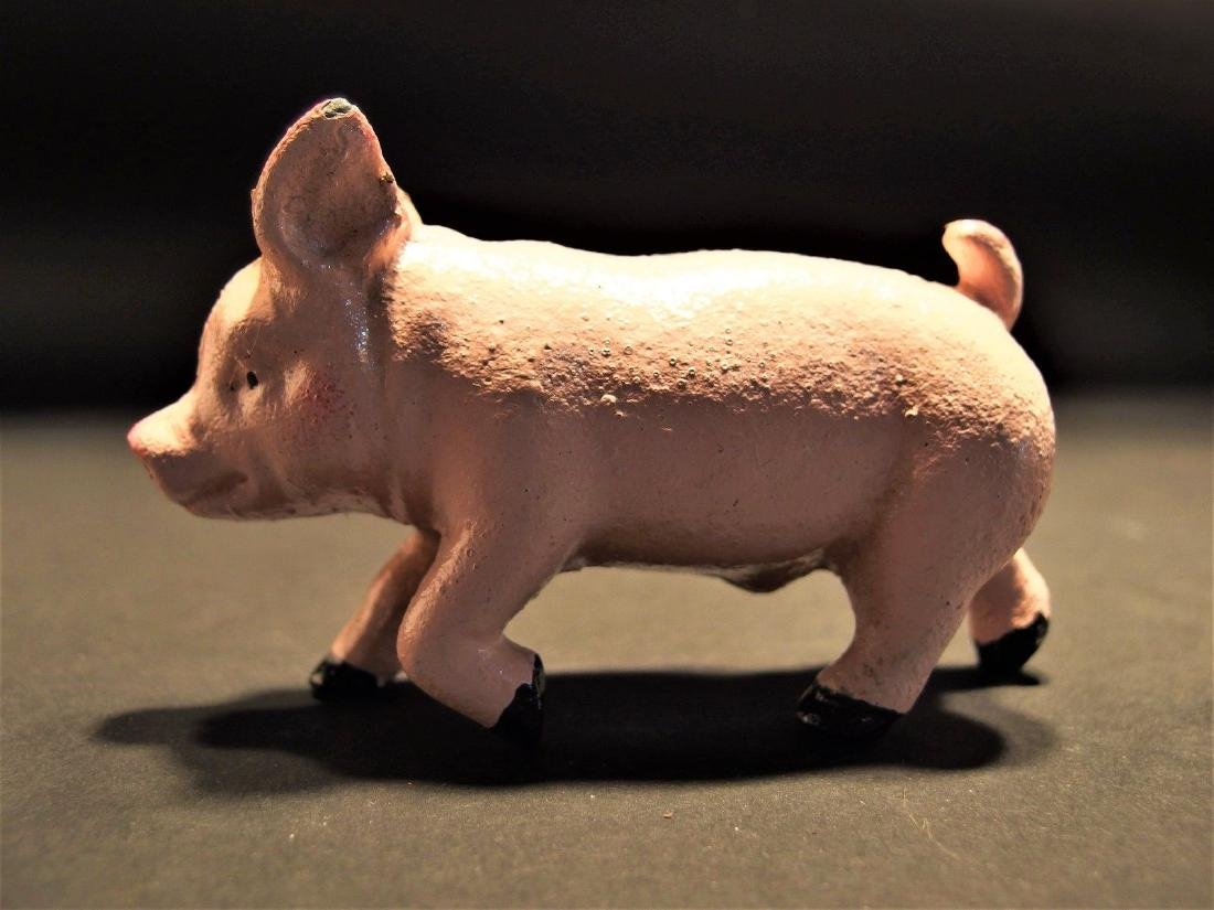 Cast Iron Running Pig Piglet